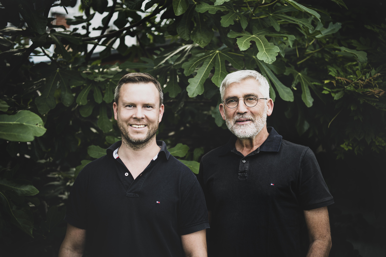Jens Nader und Albrecht Merdes